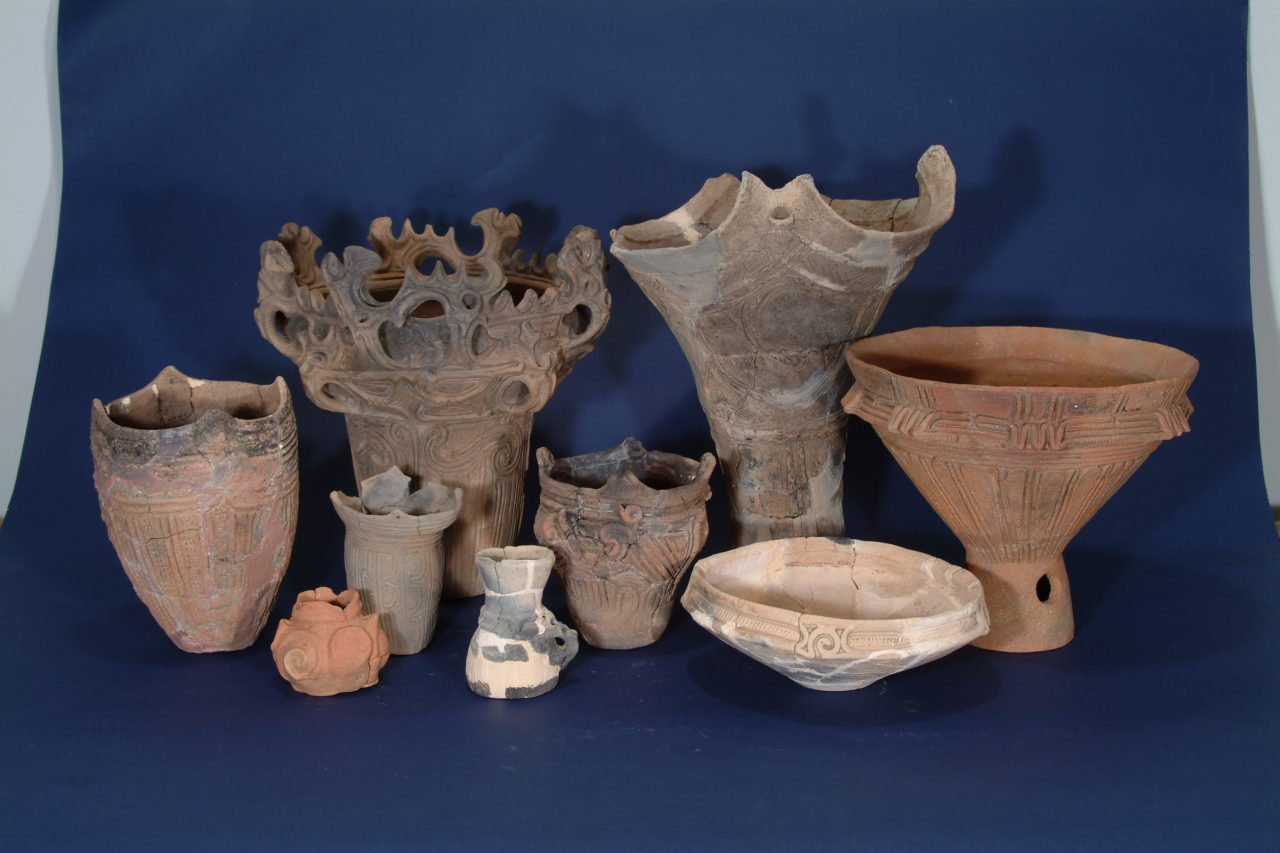 Unique Pottery of the Jomon People