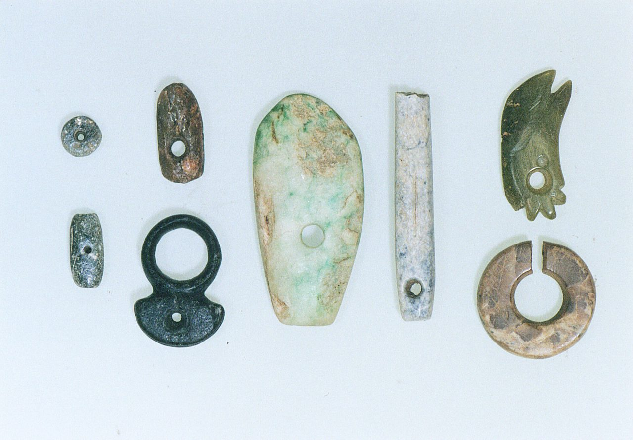 Beads of Jade and other Minerals