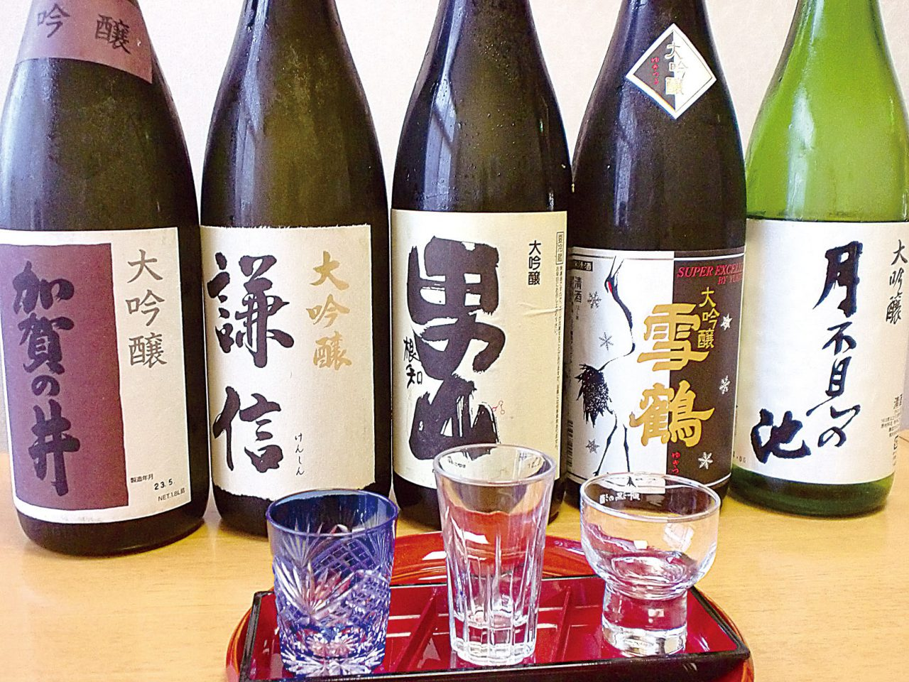 Sample Itoigawa's Five Sake Breweries