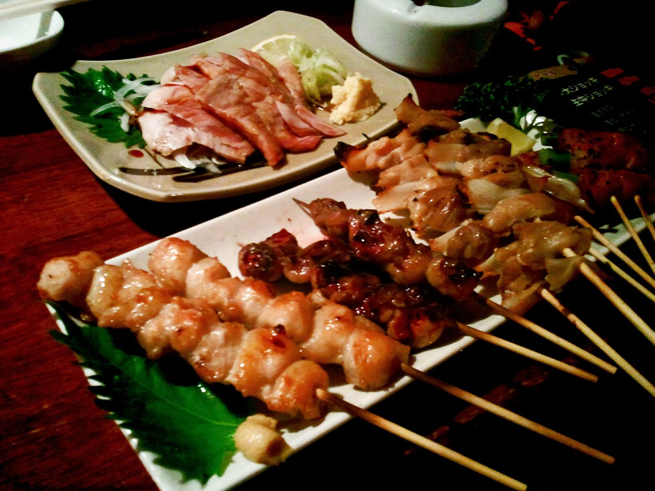 Yakitori is a popular way to enjoy chicken