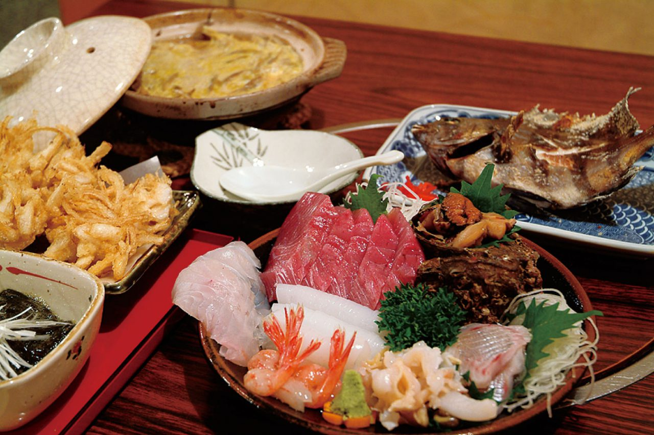 Enjoy a Variety of Seafood