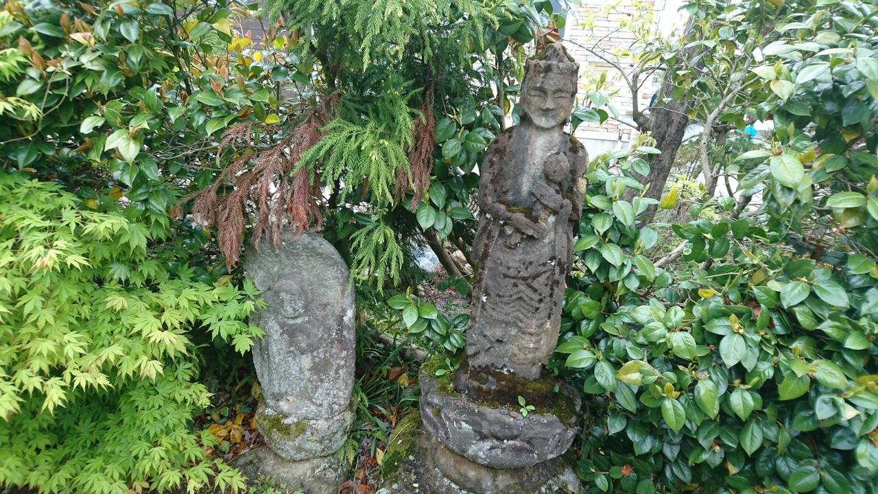 Mizuho Kannondo Temple Guardian Statues