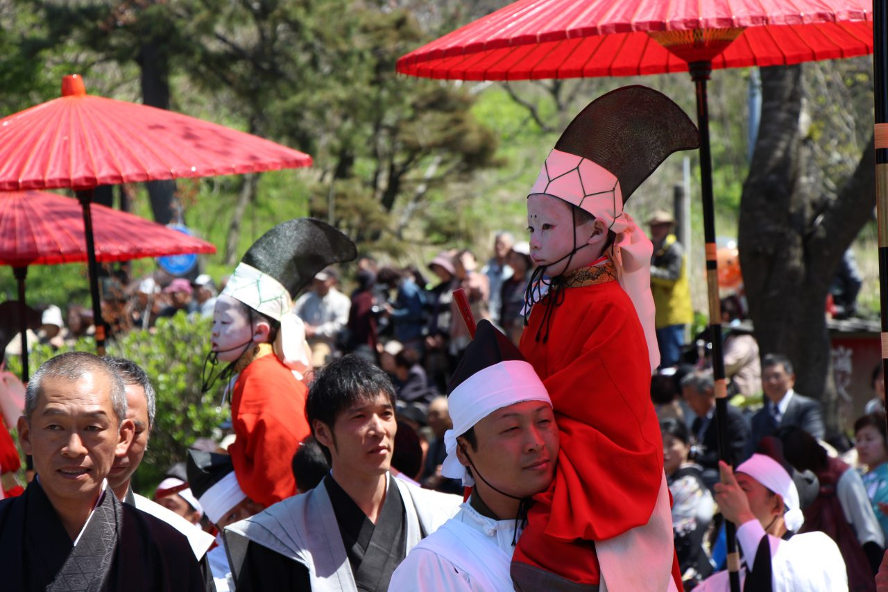 Hakusan Shrine Spring Festival