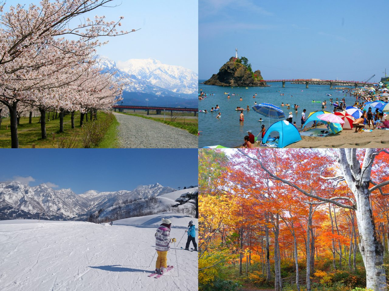 Itoigawa's Four Seasons