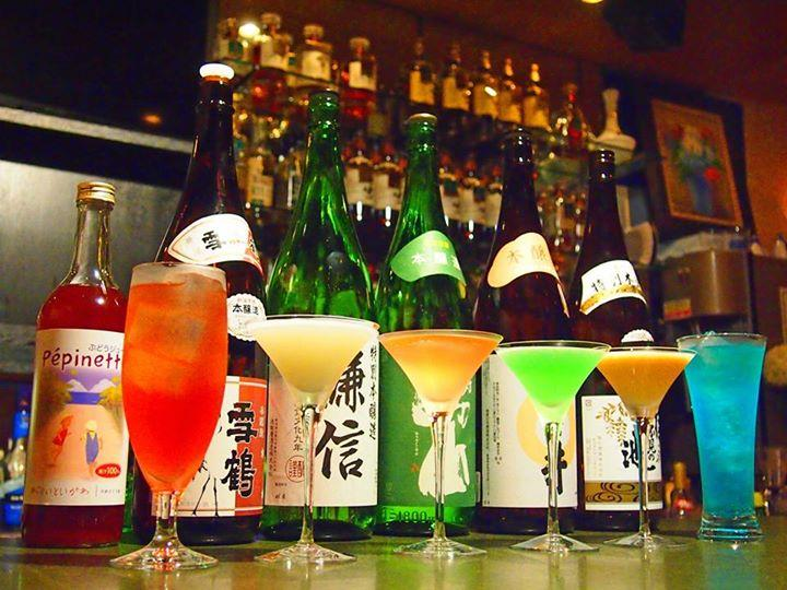 Make sure to try the Itoigawa Jade Cocktails