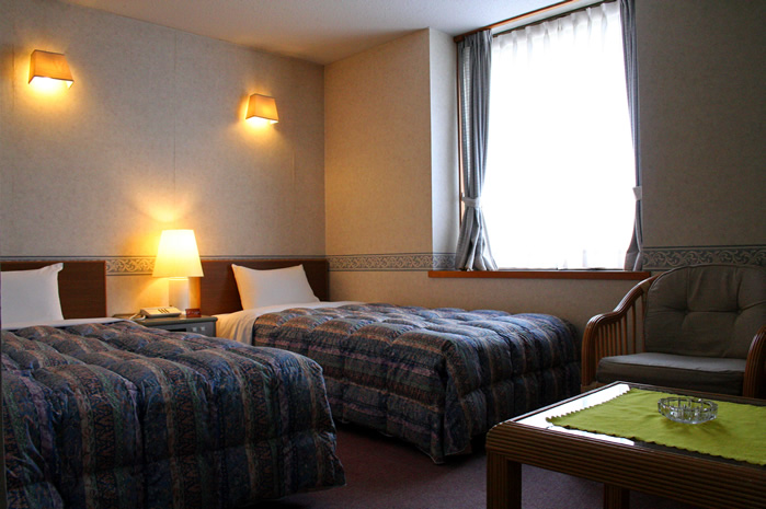 Western-style rooms available