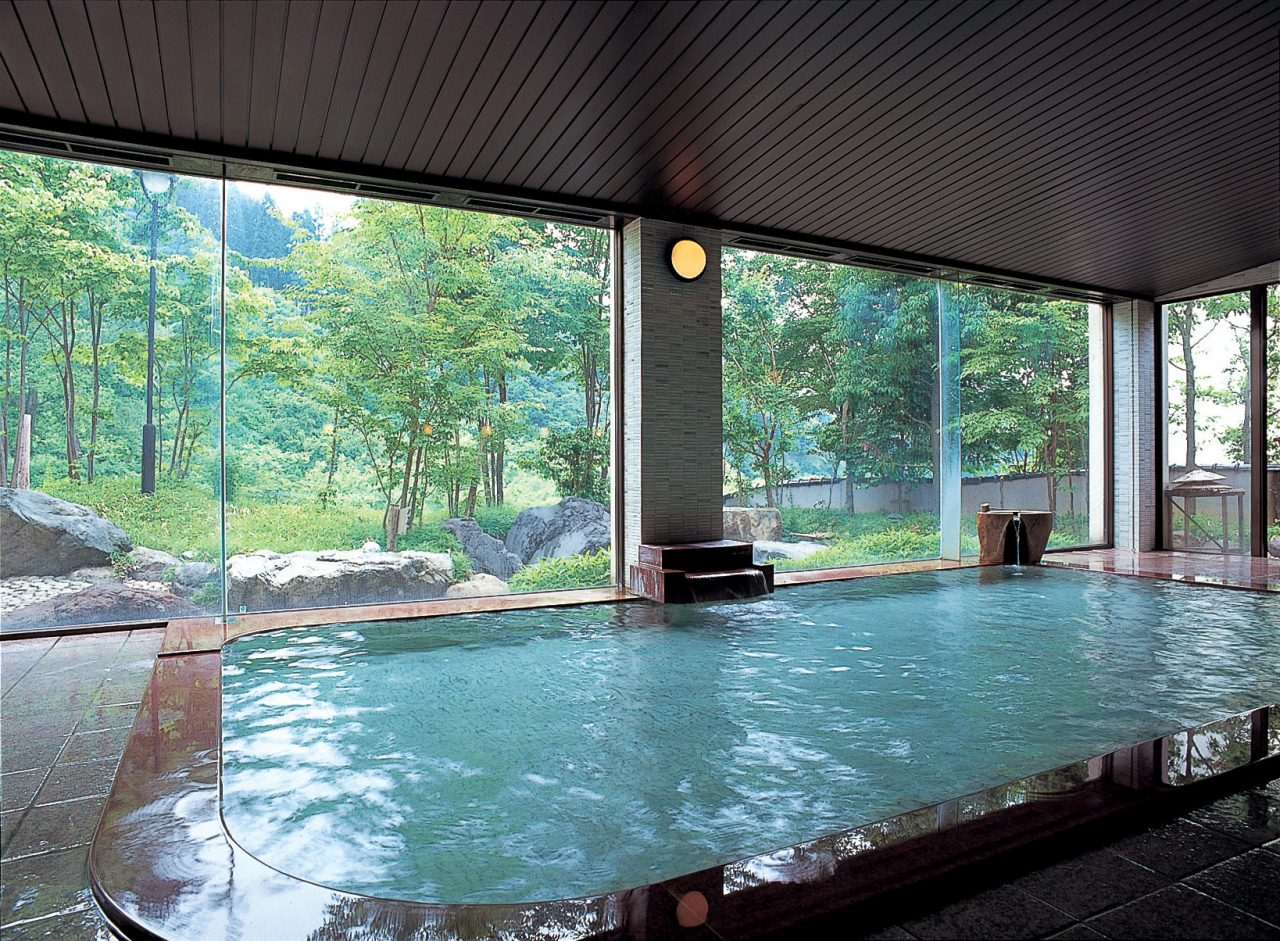 Enjoy a relaxing soak in our hot spring baths.